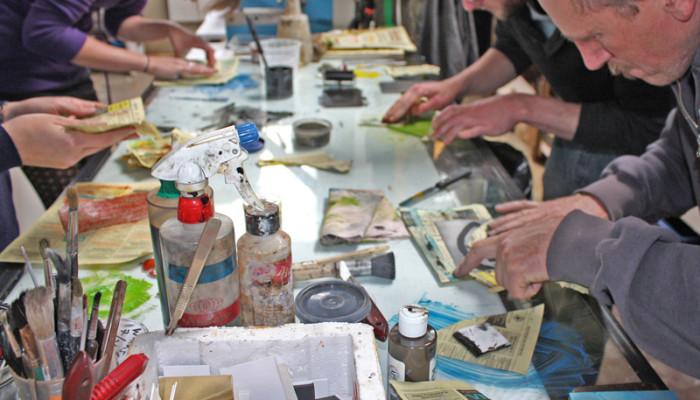 Printmaking Course NZ at Wharepuke